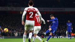 Арсенал - Челси 2:0 (Развой на срещата по минути)
