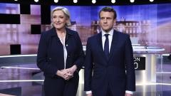 Макрон и Льо Пен в последен сблъсък преди вота във Франция