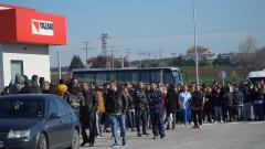 Работници от фирма в Димитровград обявиха стачка заради липса на маски