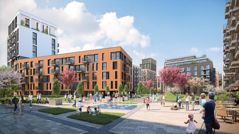 Снимка: София ще има нов жилищен комплекс за 85 милиона лева
