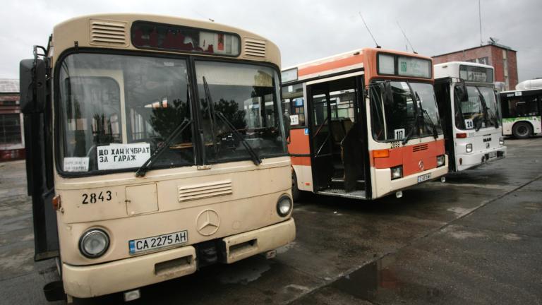 15 столични автобуса и трамвай №4 са с променени маршрути