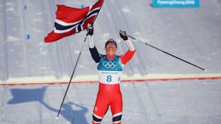 Марит Бьорген бетонира мястото си в историята на Олимпийските игри