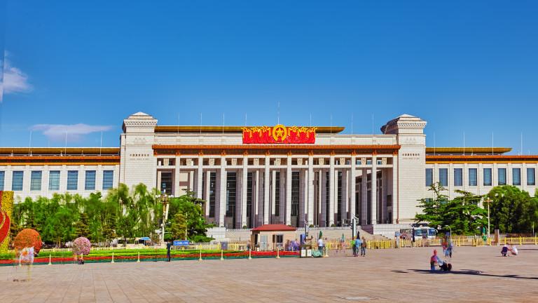 До 3 г. затвор при неуважение химна на Китай