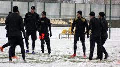 Стивън Петков пропусна снежната тренировка на Ботев (Пд)