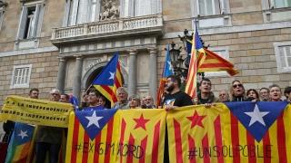 Каталунците излязоха на протест срещу правителството в Мадрид