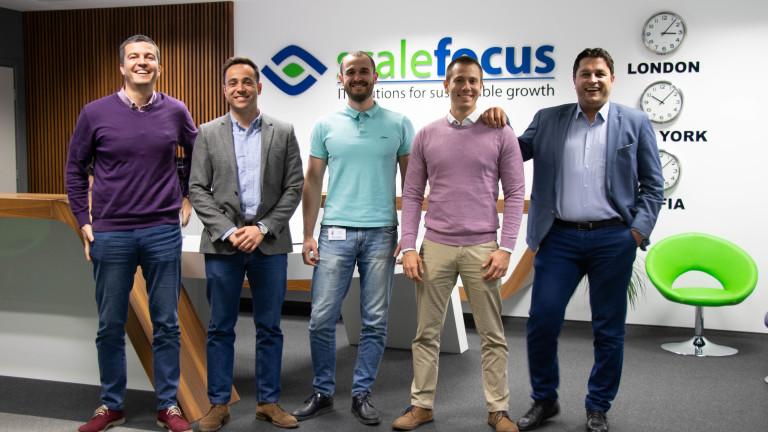 Екипът на българския стартъп