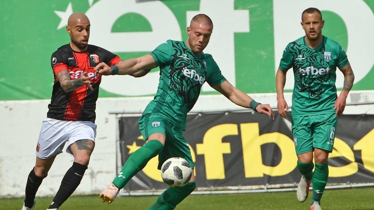 Витоша - Локомотив 0:3 (Развой на срещата по минути)
