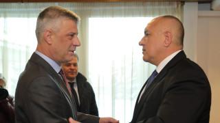 Борисов отива в Косово, за да говори с Тачи за евроинтеграция
