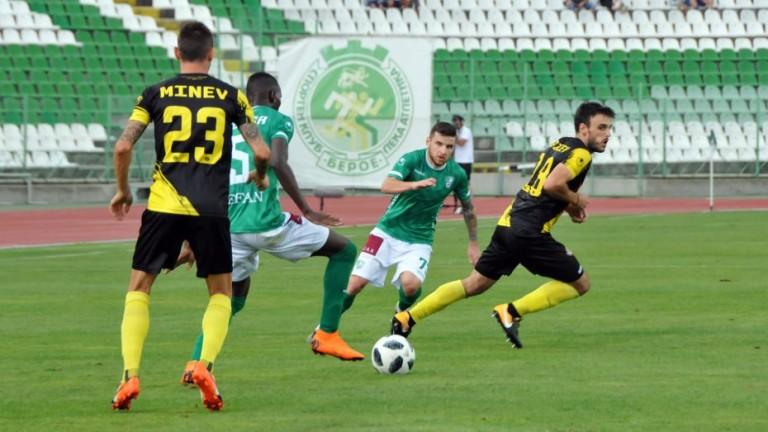 Шеф в Берое: Иван Минчев е един от основните ни играчи, няма нищо вярно в това, което се пише