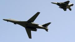 САЩ показаха мускули пред КНДР с бомбардировачи B-1B