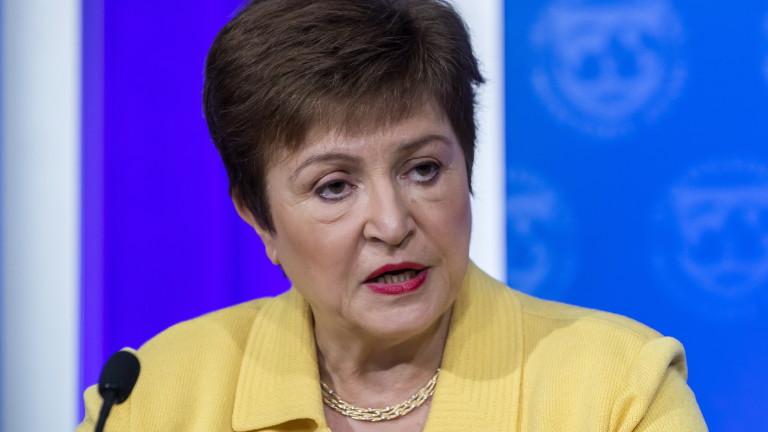 Кристалина Георгиева: Икономическите мерки срещу COVID-кризата трябва да продължат