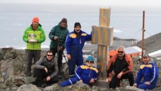 Вече и на Антарктида има паметник на кирилицата