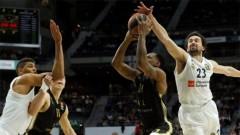 Трудни победи за Реал и Олимпиакос в баскетболната Евролига
