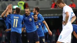 Респектираща Италия писа четворка на Чехия