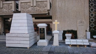 Възстановеният паметник на полк. Каварналиев е вече в НИМ