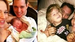 Майкъл Бубле заряза всичко, заради болното си от рак дете