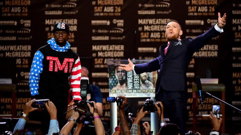 Сблъсъкът Мейуедър-Макгрекър предизвиква истерия във феновете на бойните спортове