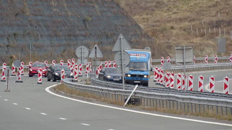 Променят временно движението на магистрала