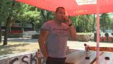 Феновете на Партизан подкрепиха цесекар (СНИМКА)