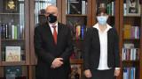Иван Гешев проведе среща с Лаура Кьовеши