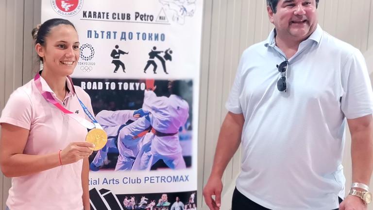 Ивет Горанова събра 500 каратеки на летен лагер