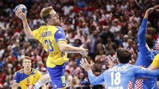 Швеция попари Хърватия на европейското по хандбал
