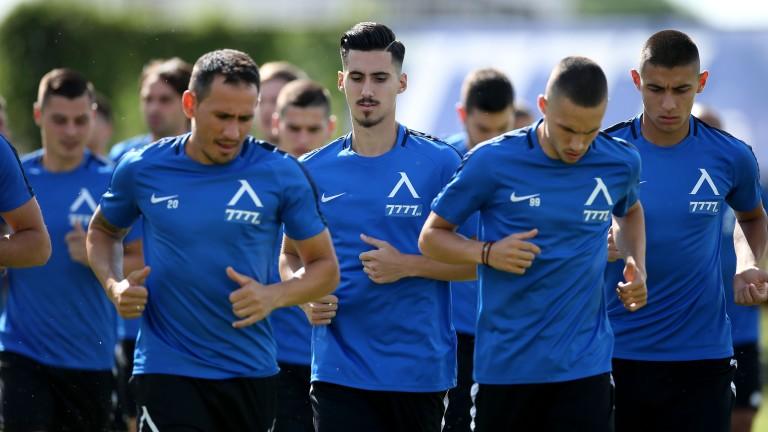 Групата на Левски за мача с Етър
