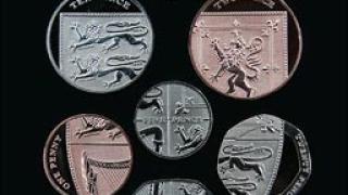Великобритания с нови монети