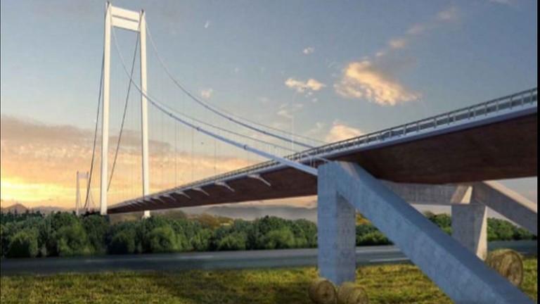 435 милиона евро ще струва новият мост на река Дунав
