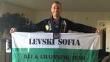 Футболният Левски поздрави български боец