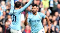 """Сити окупира върха в Англия, Кун с гол номер 149 за """"гражданите"""""""