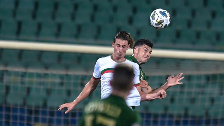 България и Ирландия завършиха наравно 1:1 в мач от новия