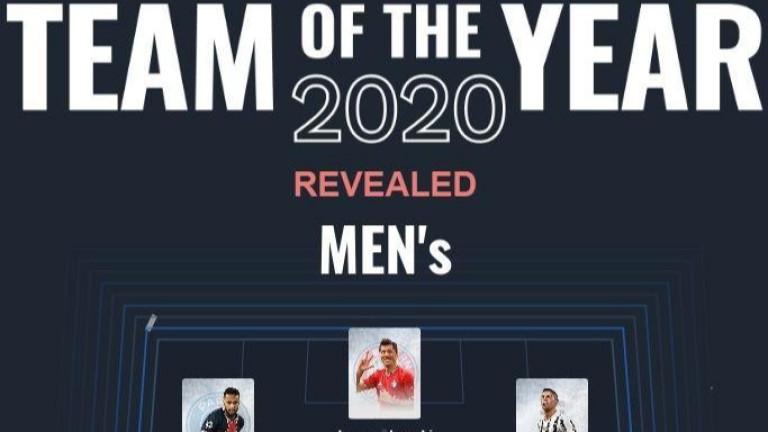 Доминация за Байерн, Меси и Роналдо намериха място в Идеалния отбор на УЕФА