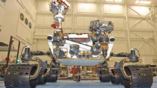 """Марсоходът """"Кюриосити"""" се счупи"""