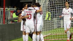 Милан обърна Каляри в нажежен до червено мач (ВИДЕО)