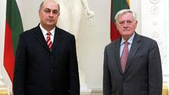 Посланикът ни в Литва връчи акредитивните си писма