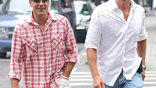 Клуни, Синди Крауфорд и Боно купонясват заедно във Франция