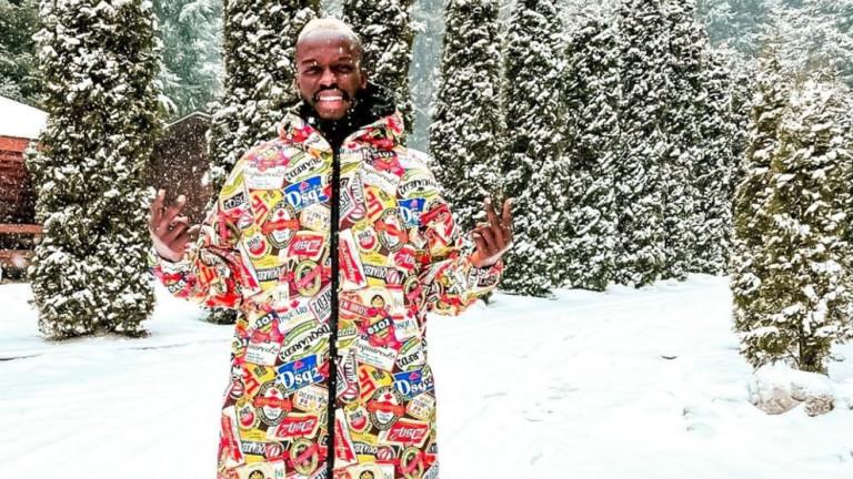 Снегът в София е истинска атракция за нападателя на ЦСКА
