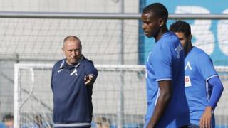 Левски тренира за здрава защита