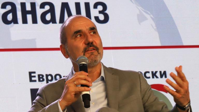 Цветан Цветанов прогнозира 500 000 гласа - и за себе си, и за ГЕРБ
