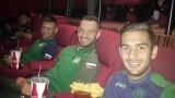 Националите отидоха на кино
