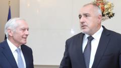 Ген. Уесли Кларк обсъжда с Борисов борбата с контрабандата