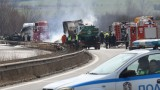 Бягство от полицейска палка предизвика тежка катастрофа на АМ Тракия