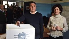 20% избирателна активност на референдума в Италия към обяд