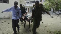 Ислямисти нападнаха съда в Могадишо