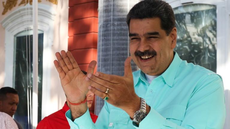 Мадуро се хвали с опълчение от 3,3 млн. души