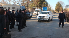 Пожар е бушувал в мигрантския център в Харманли