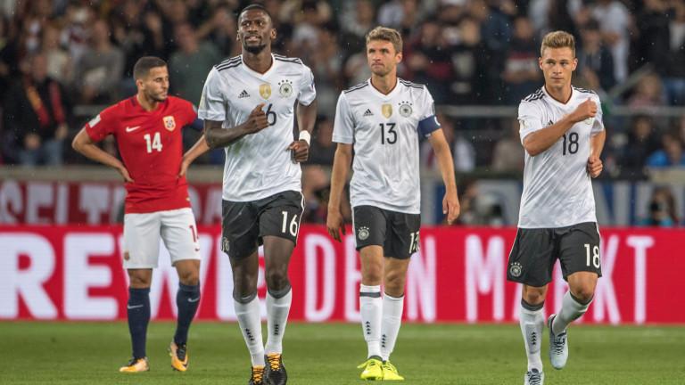 Германия може да изравни 28-годишен рекорд