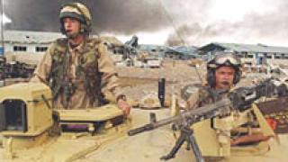 3000 иракски войници сменят британците в Басра