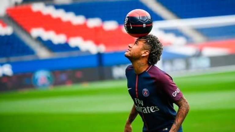 Най-скъпият футболист в света и най-новото попълнение на Пари Сен